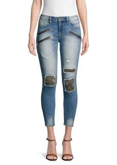 Miss Me Distressed Ankle Skinny Jeans
