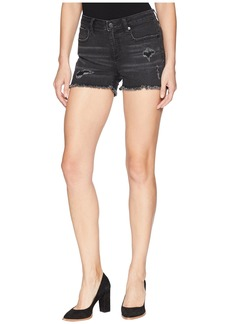 Miss Me Distressed Mid-Rise Shorts