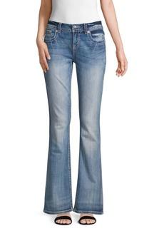 Miss Me Embellished Pocket Easy Bootcut Jeans