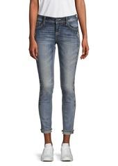 Miss Me Embellished Skinny Ankle Jeans