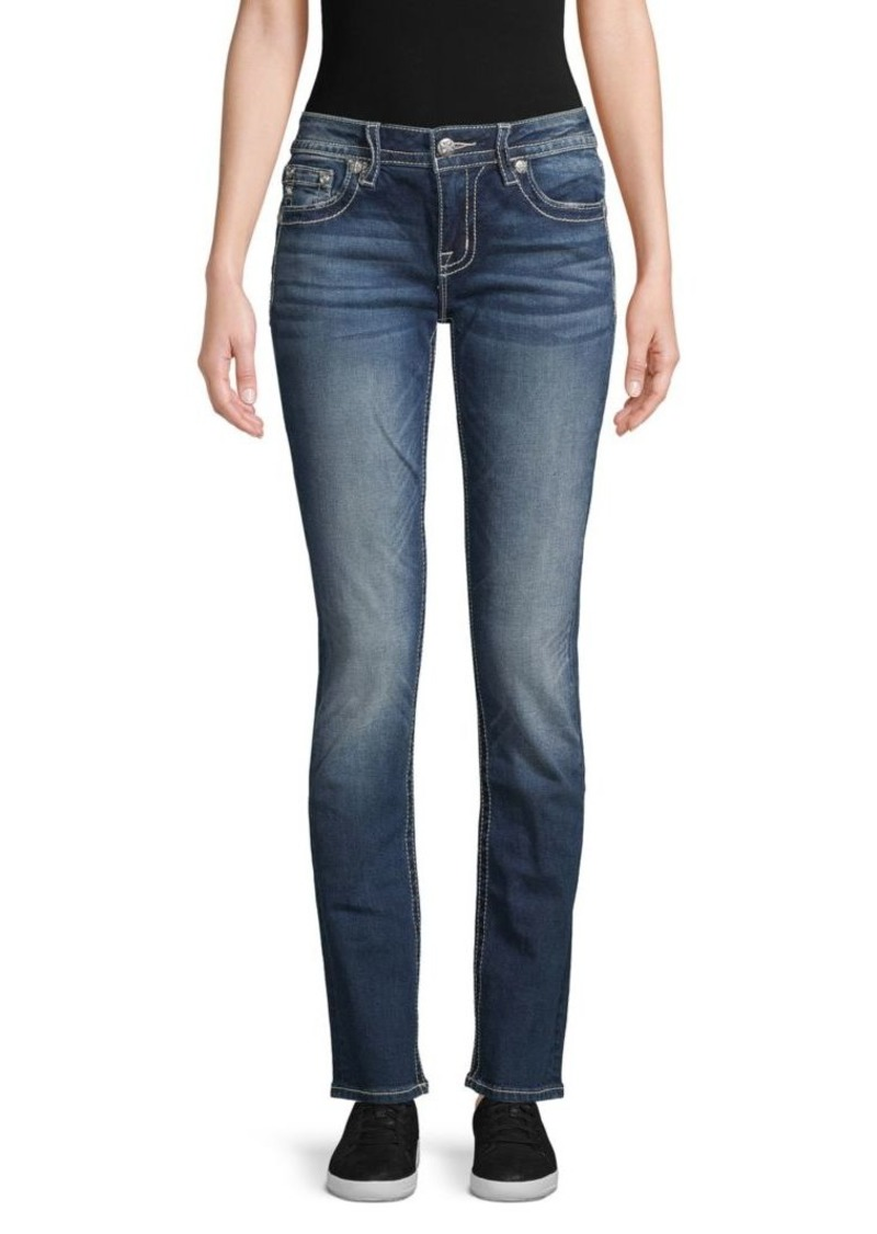 Miss Me Embellished Straight Jeans