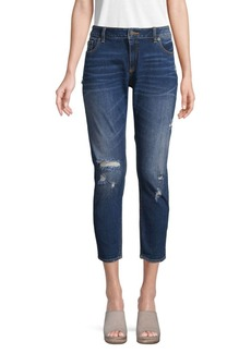 Miss Me Flap-Pocket Easy Ankle Skinny Jeans