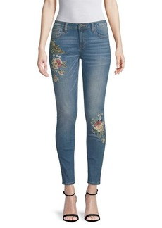 Miss Me Floral Embroidered Jeans