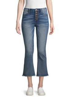 Miss Me High-Rise Cropped Boot-Cut Jeans