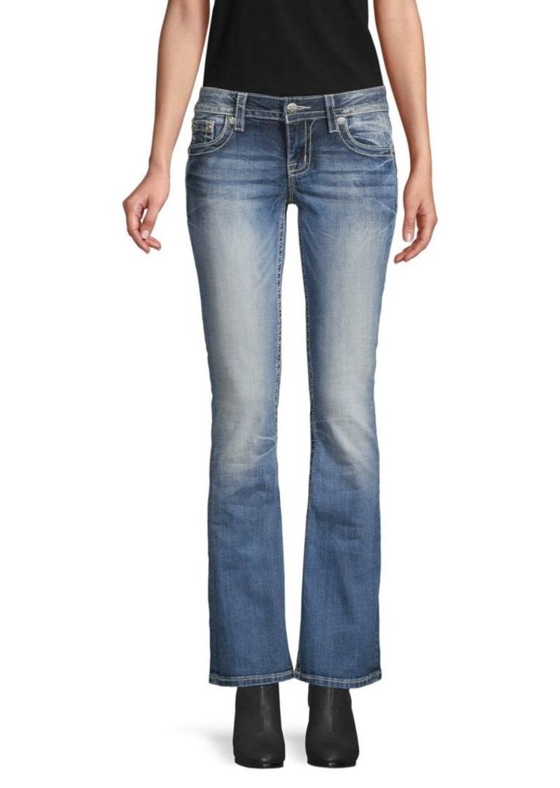 Miss Me Medium-Wash Bootcut Jeans