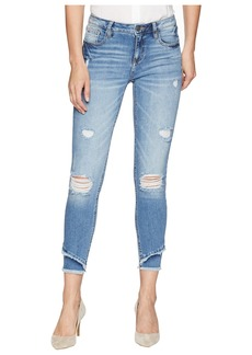 Miss Me Mid-Rise Ankle Skinny Jeans in Denim