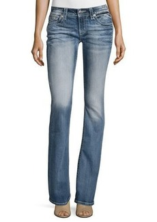 Miss Me Boot-Cut Embellished Pocket Jeans