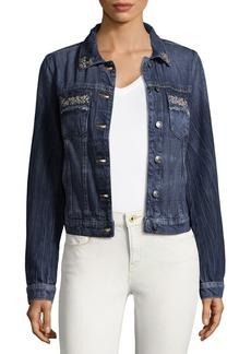 Miss Me Chic Cotton Jacket