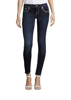 Miss Me Cropped Five-Pocket Jeans