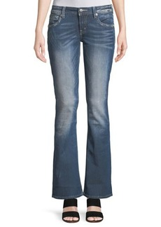 Miss Me Distressed Boot-Cut Jeans