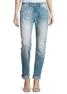 Miss Me Distressed Boyfriend Ankle Jeans