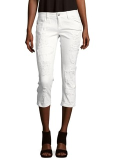 Miss Me Distressed Cropped Jeans