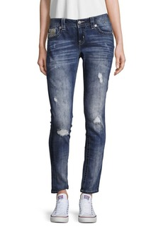 Miss Me Distressed Faded Jeans
