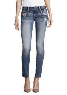 Miss Me Embellished Five-Pocket Jeans