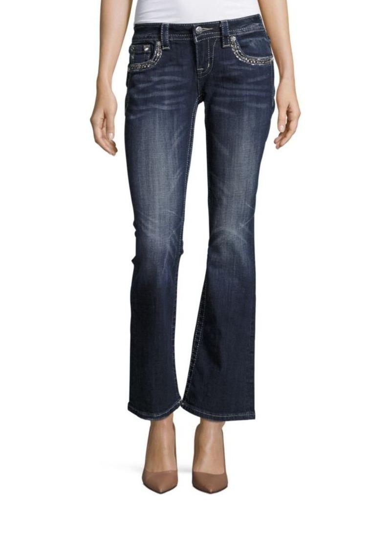 Miss Me Embellished Flared Jeans