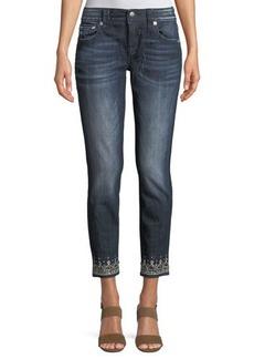 Miss Me Embellished Skinny Cropped Jeans
