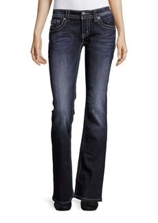 Miss Me Five-Pocket Bootcut Jeans