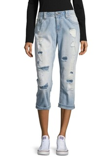 Miss Me Five-Pocket Folded-Cuff Jeans