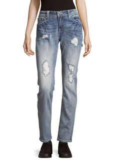 Miss Me Five-Pocket Mid-Rise Jeans