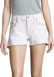 Miss Me Five-Pocket Stretchable Shorts