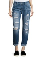 Miss Me Jetsetter Distressed Boyfriend Jeans