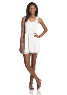 Miss Me Lace Trimmed V-Neck Sleeveless Dress