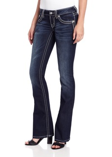 Miss Me Thick Stitch Bootcut Jean