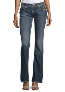 Miss Me Mid-Rise Boot-Cut Denim Jeans