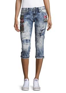Miss Me Signature Fit Capri Jeans