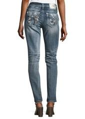 Miss Me Skinny Embroidered Denim Jeans