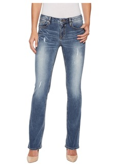 Miss Me Slim Bootcut Jeans in Medium Blue