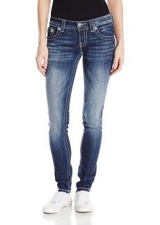 Miss Me Women's Cross Pocket Skinny Jean