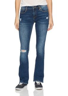Miss Me Women's Distressed Boot Cut Denim Jean