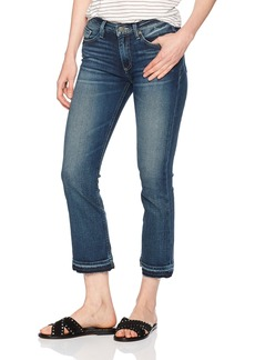 Miss Me Women's Distressed Cropped Flare Jean