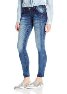 Miss Me Women's Embroidered Skinny Denim Jean