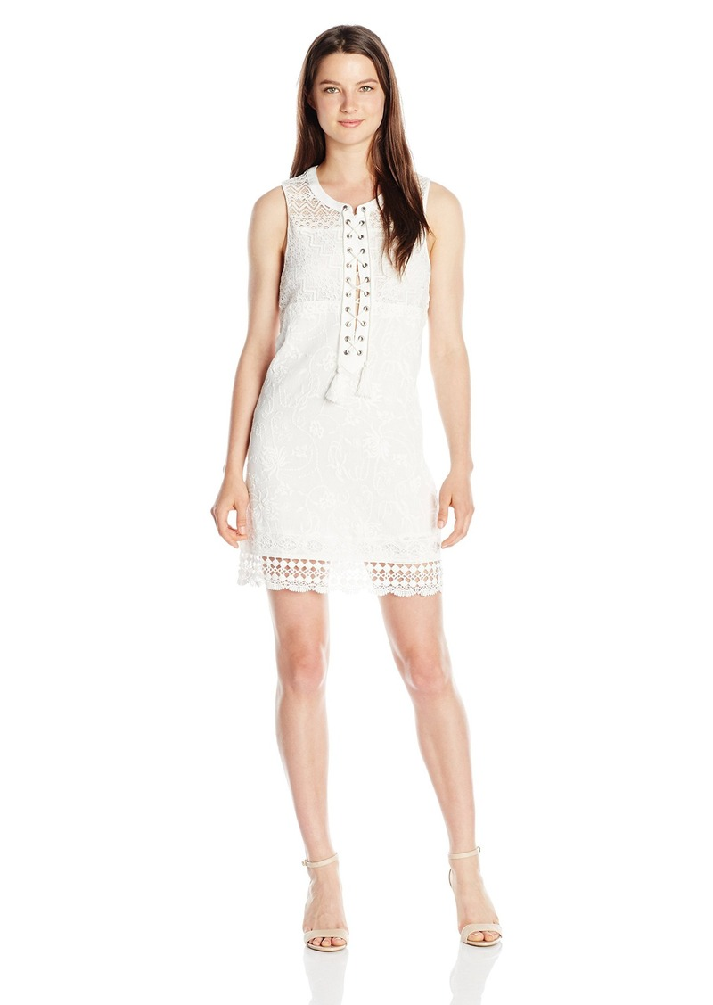 Miss Me Women's Embroidered Tank Dress