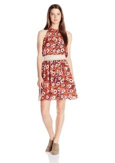Miss Me Women's Floral Print Dress