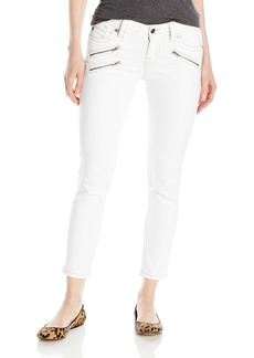 Miss Me Women's Front Zipper Skinny Denim Jean