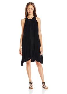 Miss Me Women's Halter Ruffled Dress