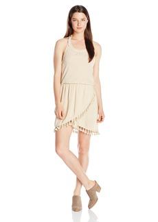 Miss Me Women's Halter Tassle Dress