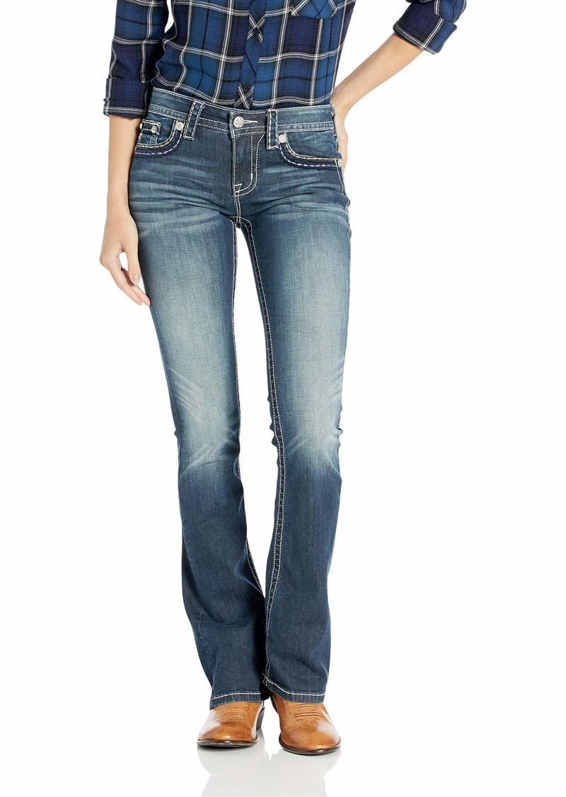 Miss Me Women's Living for It Bootcut Jeans