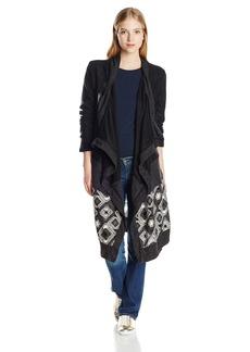 Miss Me Women's Long Sleeve Knee Length Cardigan  M
