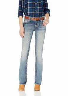 Miss Me Women's Lucky Girl Bootcut Jeans