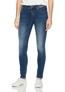 Miss Me Women's Mid Rinse Basic Skinny Denim Jean