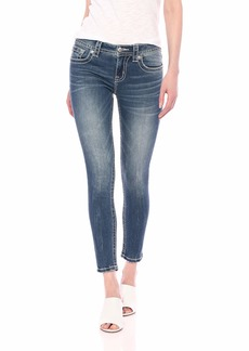 Miss Me Women's Mid-Rise Hailey Ankle Skinny Jeans
