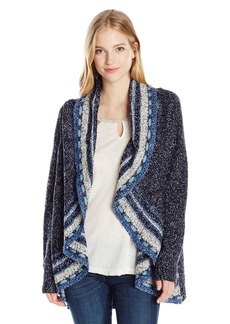 Miss Me Women's Open Drape Cardigan  S