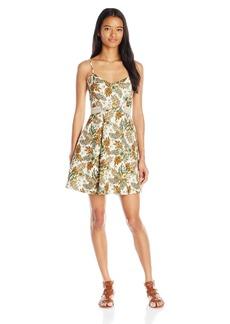 Miss Me Women's Tropical Print Dress