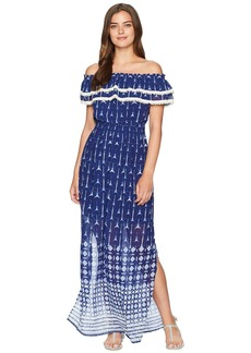 Miss Me Off Shoulder Maxi Dress