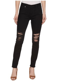 Miss Me Skinny Destructed Jeans in Black