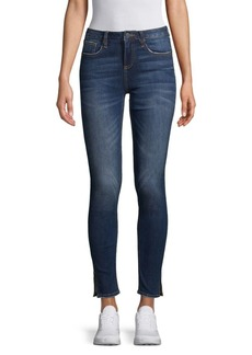 Miss Me Split High-Rise Skinny Jeans